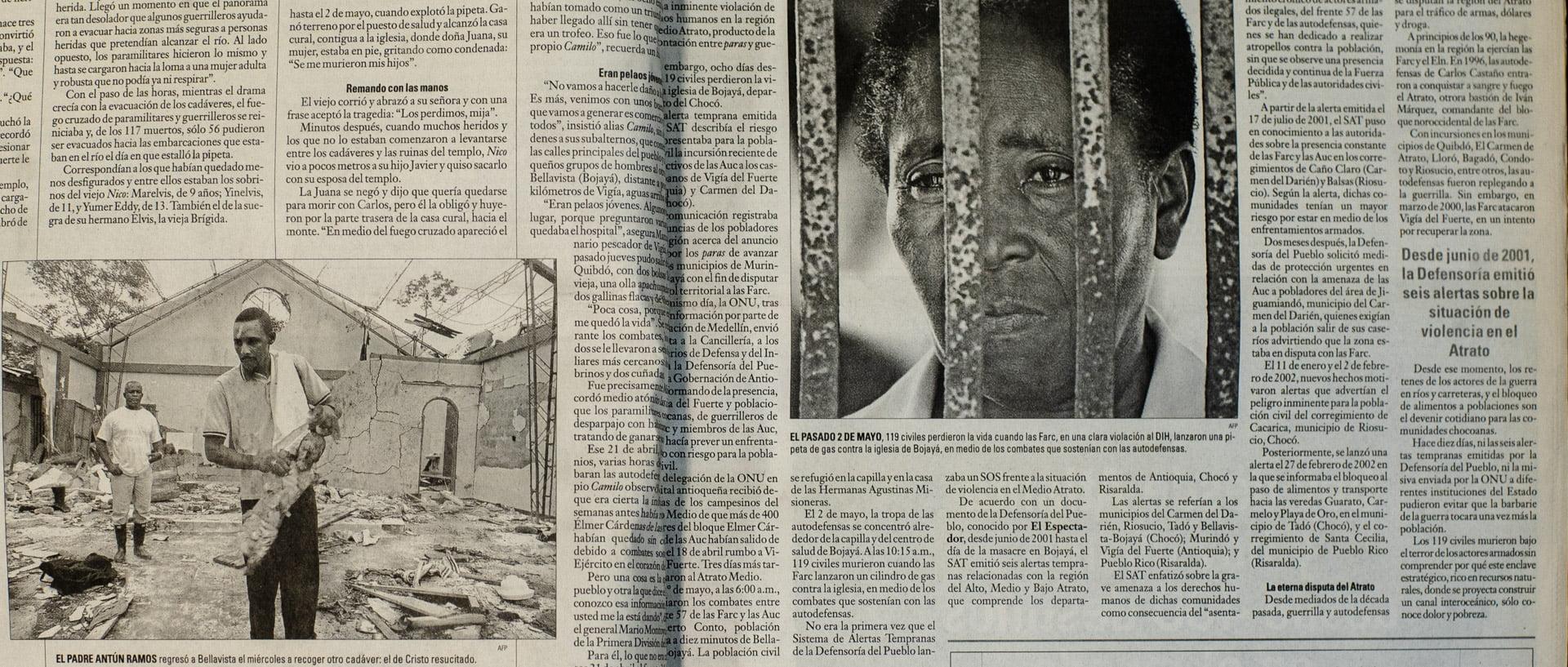 EL ESPECTADOR, 12 de mayo de 2002